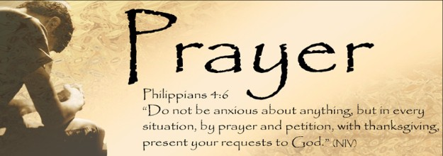 Prayer Request Form (Ministries & Groups)